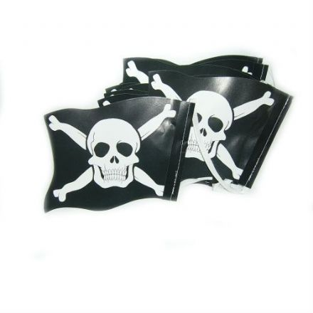 Pirate Paper Flag Bunting